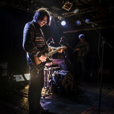Henk Koorn, zanger en gitarist van Hsllo Venray