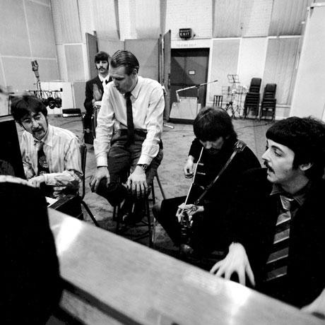 George Martin met The Beatles